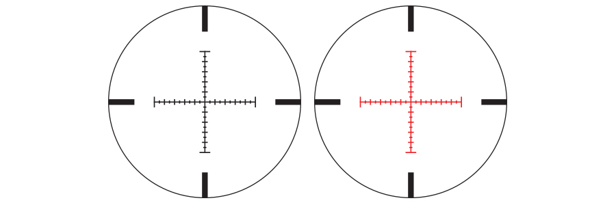 Nikon's Illuminated X-MRAD Reticles