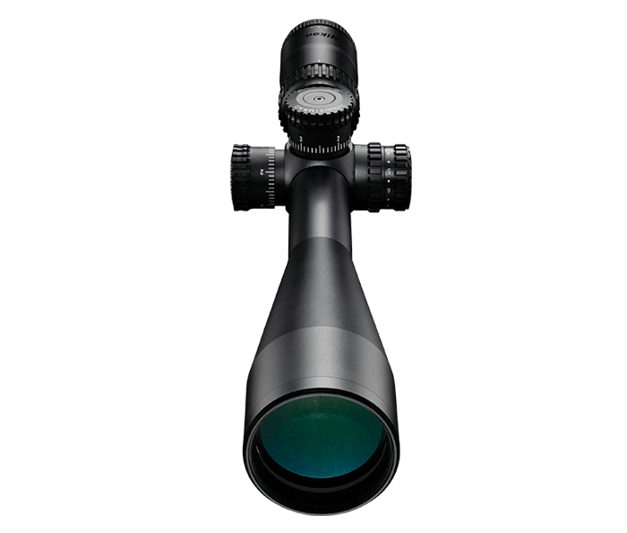 Photo of BLACK X1000 6-24x50SF Matte Illuminated X-MRAD Reticle