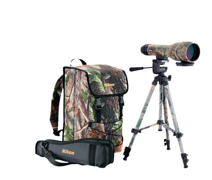 Photo of Spotter XL ll 16-48x60 Straight Outfit Team REALTREE HD Green