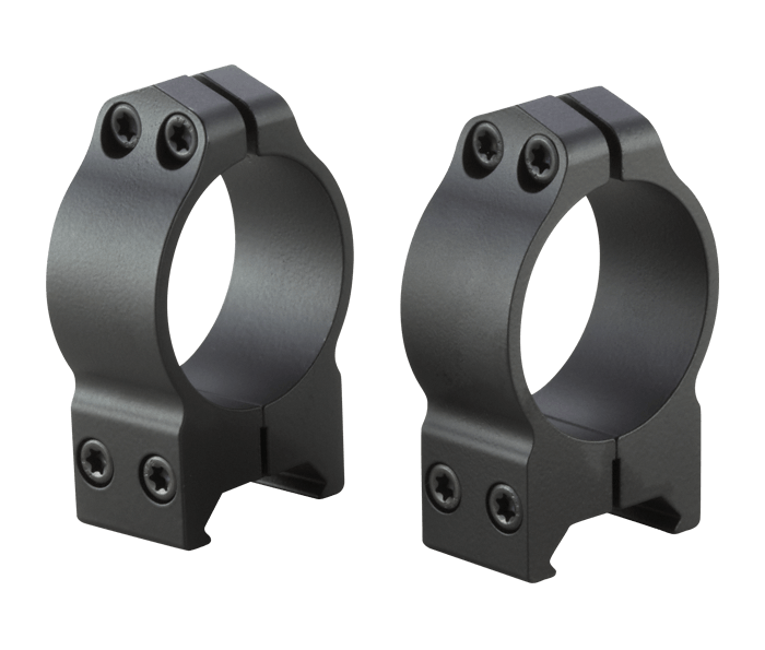 Photo of S-Series 30mm Medium Rings Black Matte (Steel)