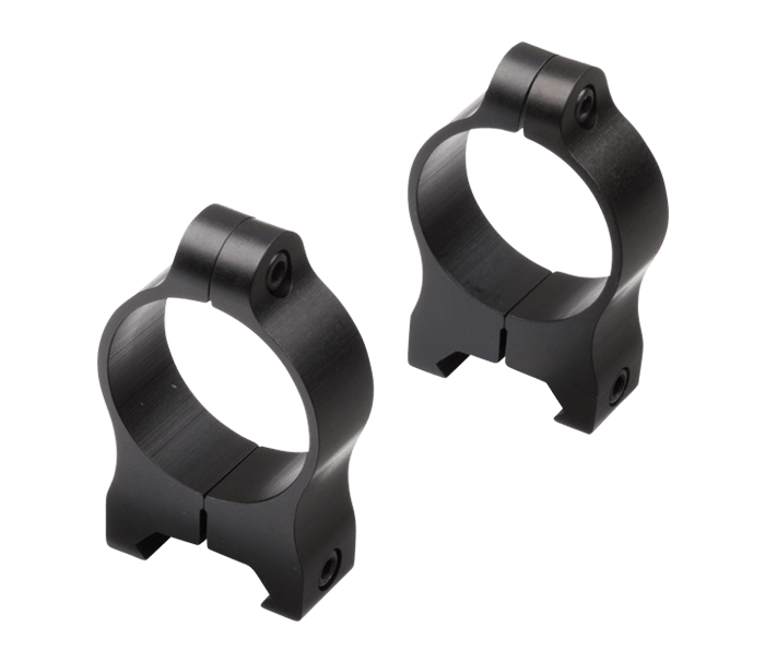 Photo of  A-Series 30mm Medium Rings Black Matte (Aluminum)