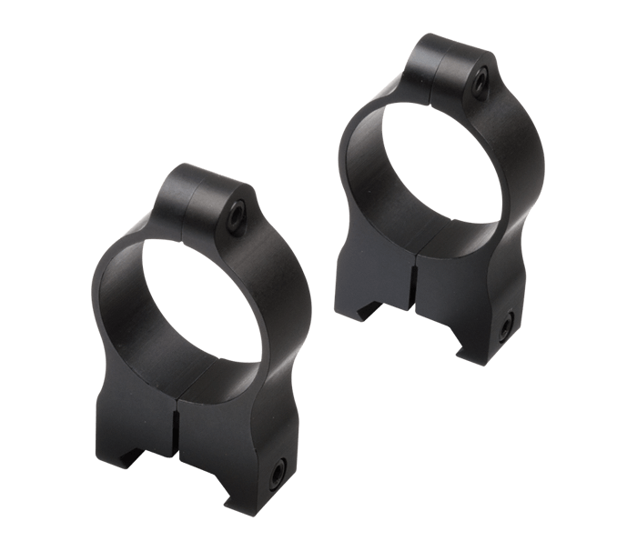 Photo of A-Series 30mm High Rings Black Matte (Aluminum)
