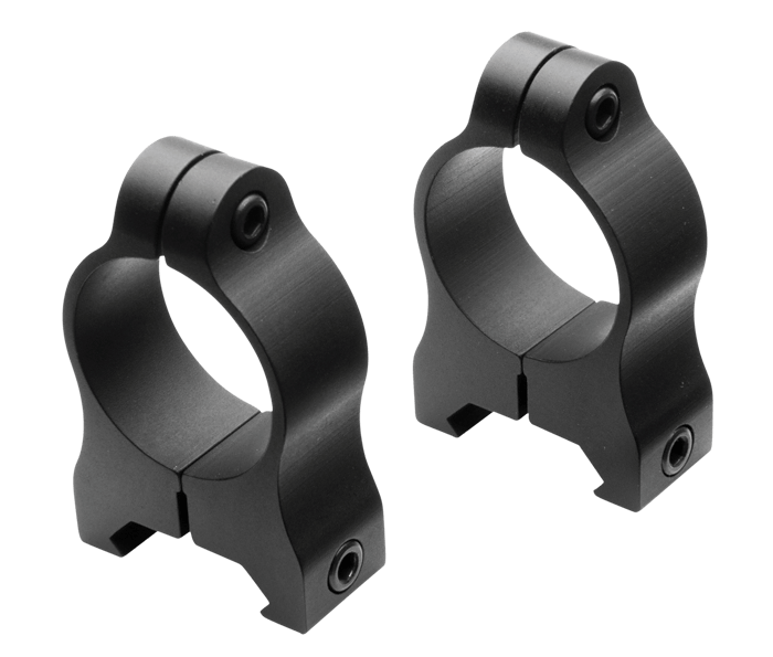 Photo of A-Series Rimfire Medium Rings Black Matte (Aluminum)