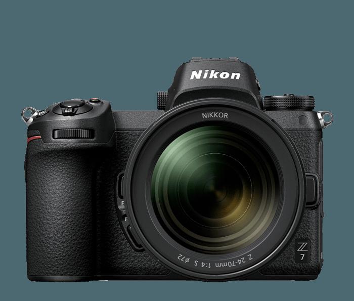 nikon z 7 interchangeable lens mirrorless camera