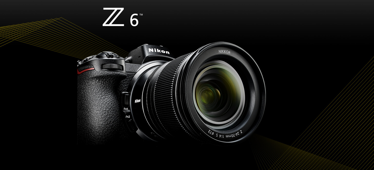 Nikon Z 6 | Interchangeable Lens Mirrorless Camera