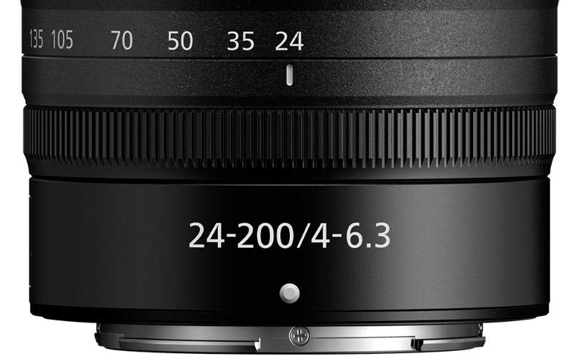 Photo of the NIKKOR Z 24-200mm f/4-6.3 VR control ring