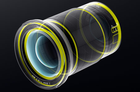 rendering showing the seals on the NIKKOR Z 20mm f/1.8 S lens