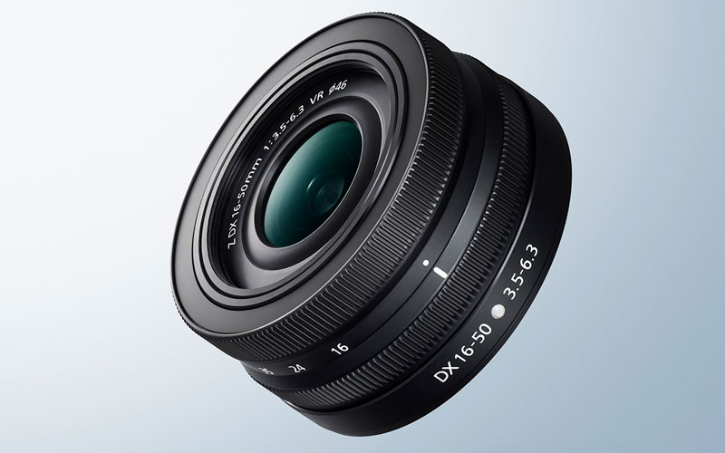 product photo of the NIKKOR Z DX 16-50mm f/3.5-6.3 VR lens
