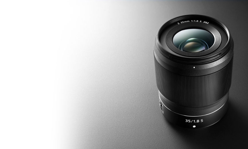 product photo of the NIKKOR Z 35mm f/1.8 S