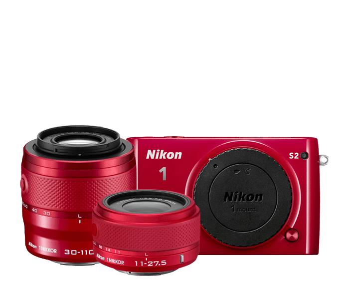 Photo of Nikon 1 S2 Two-Lens Kit Red