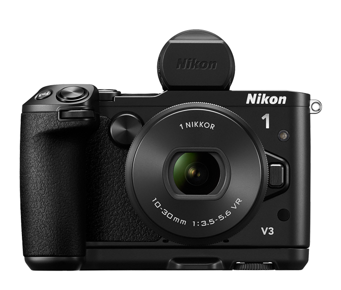 Photo of Nikon 1 V3 One Lens Kit + Grip and Electronic Viewfinder