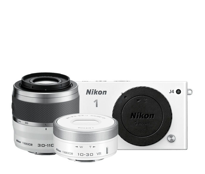 Photo of Nikon 1 J4 Two Lens Zoom Kit White
