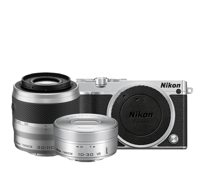 Photo of Nikon 1 J5 Two-Lens Zoom Kit Silver