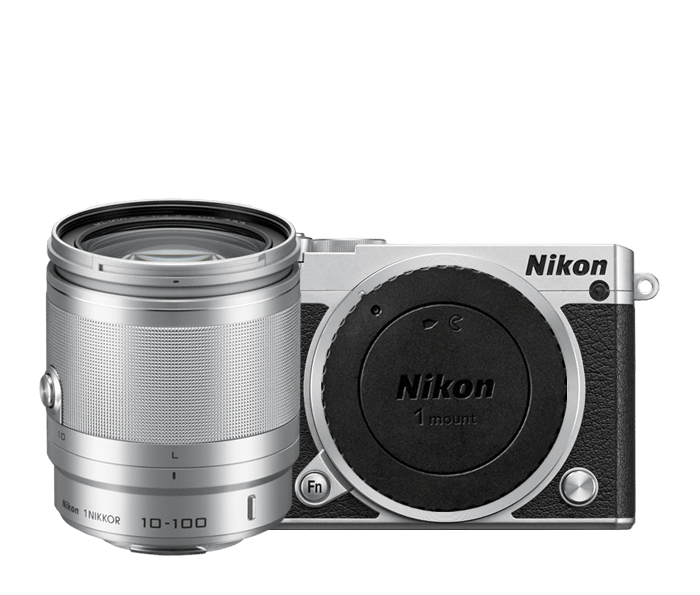 Photo of Nikon 1 J5 All-In-One Lens Kit Silver