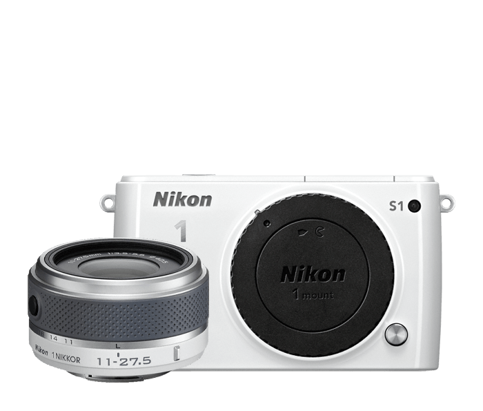 Photo of Nikon 1 S1 One-Lens Kit White