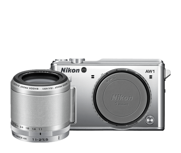 Photo of Nikon 1 AW1 One-Lens-Kit Silver