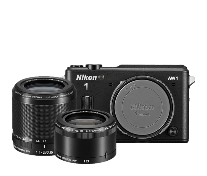 Photo of Nikon 1 AW1 Two-Lens-Kit  Black