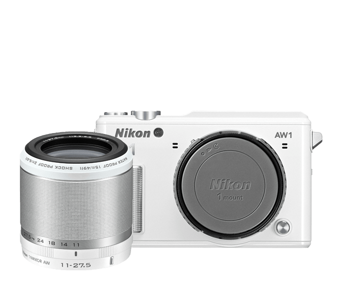 Photo of Nikon 1 AW1 One-Lens-Kit White
