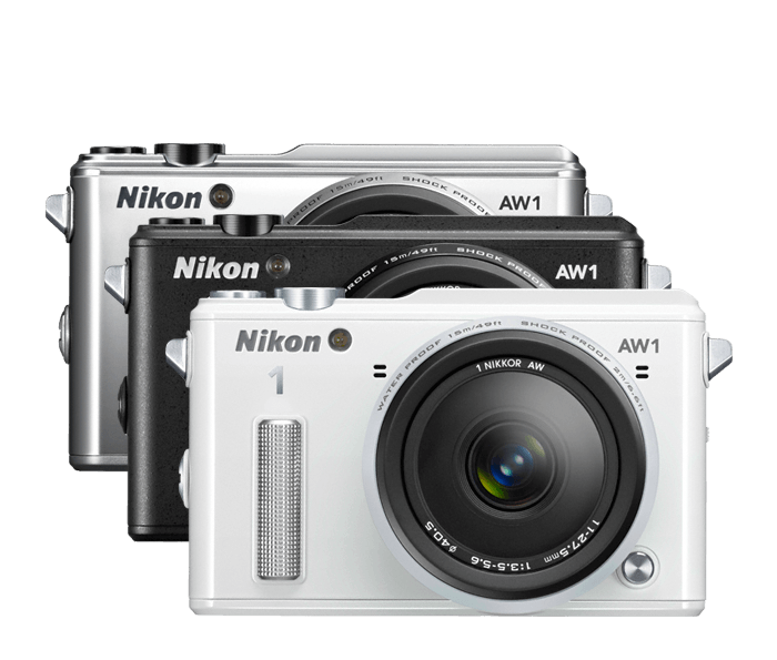 Nikon 1 AW1 | Waterproof, Shockproof, Freezeproof Camera