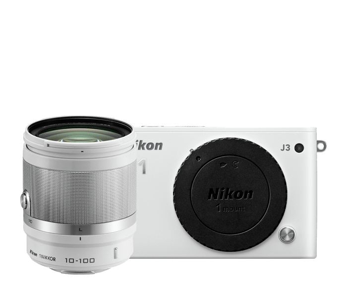 Photo of Nikon 1 J3 All-In-One Lens Kit White