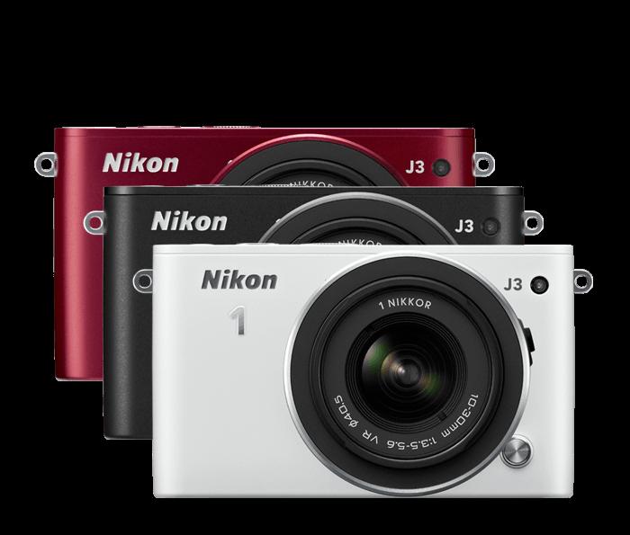 Nikon 1 J3 | Interchangeable Lens Camera w/ CX Format Sensor