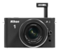 Black option for Nikon 1 J1