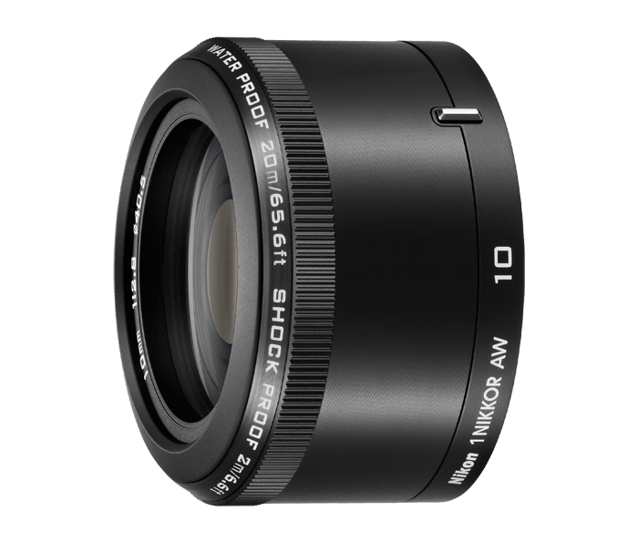 Photo of  1 NIKKOR AW 10mm f/2.8 Black