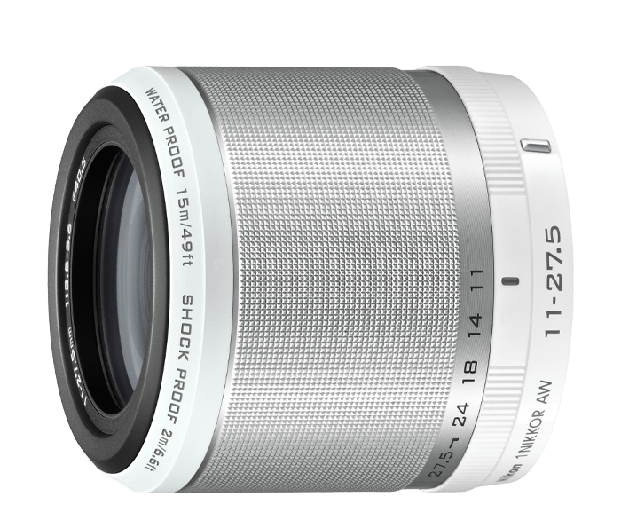 Photo of  1 NIKKOR<br/> AW 11-27.5mm f/3.5-5.6 White