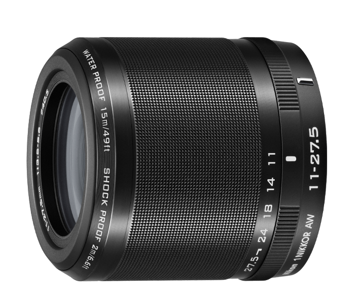 Photo of  1 NIKKOR<br/> AW 11-27.5mm f/3.5-5.6 Black