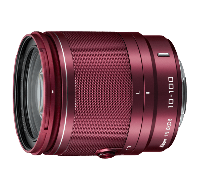 Photo of  1 NIKKOR<br/> VR 10-100mm f/4-5.6 Red