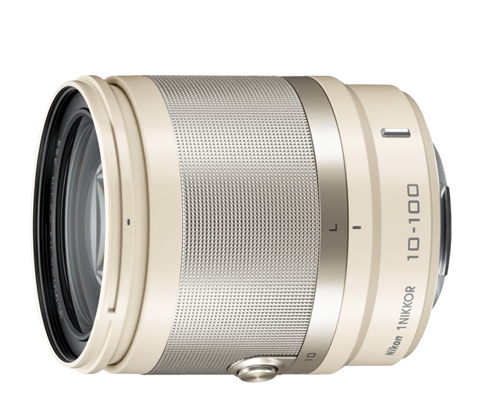 Photo of  1 NIKKOR<br/> VR 10-100mm f/4-5.6 Beige