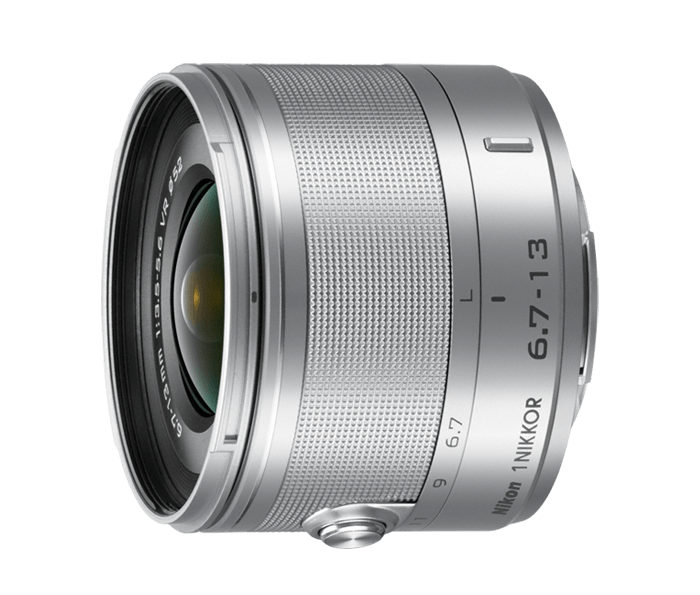 Photo of  1 NIKKOR<br/> VR 6.7-13mm f/3.5-5.6 Silver