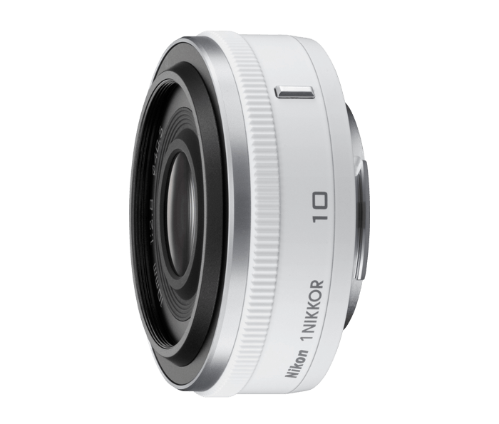 Photo of  1 NIKKOR 10mm f/2.8 White