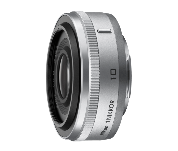 Photo of  1 NIKKOR 10mm f/2.8 Silver