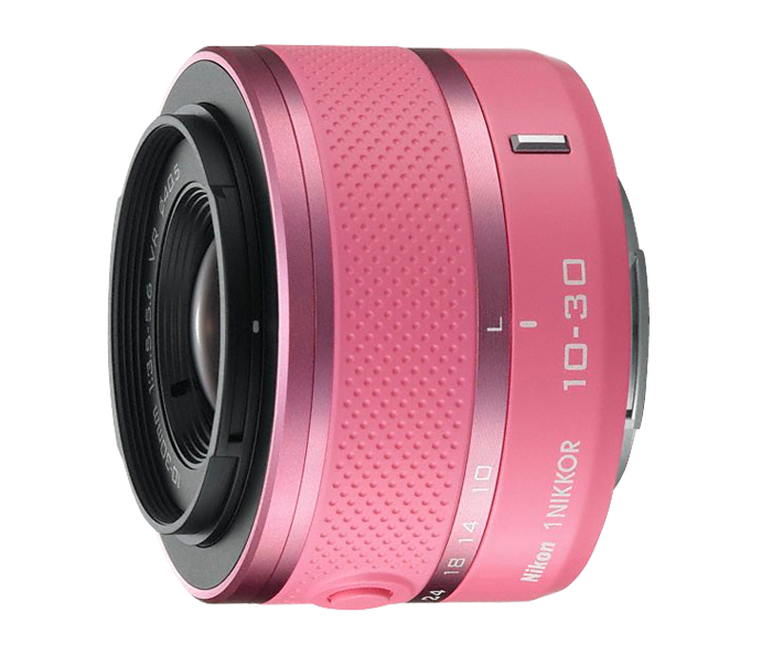 Photo of  1 NIKKOR<br/> VR 10-30mm f/3.5-5.6 Pink