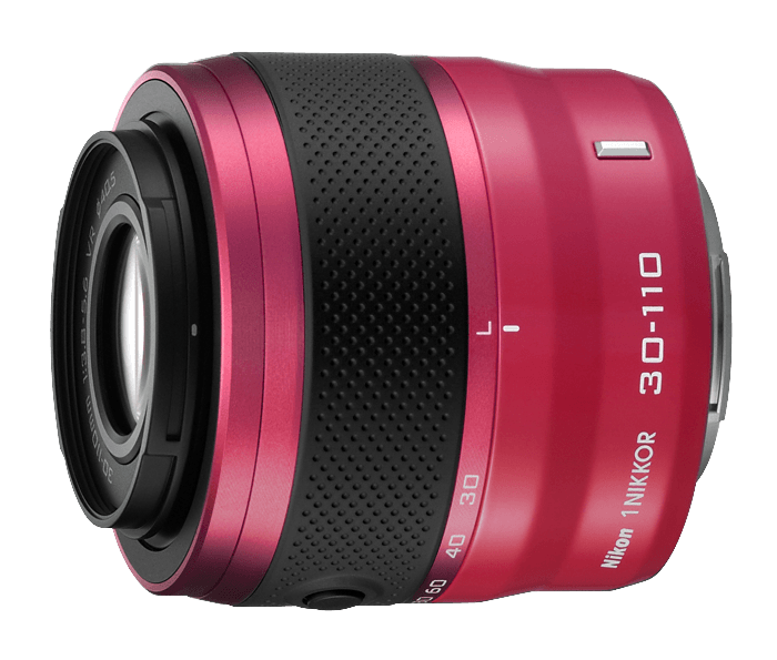Photo of  1 NIKKOR<br/> VR 30-110mm f/3.8-5.6 Pink (J2)