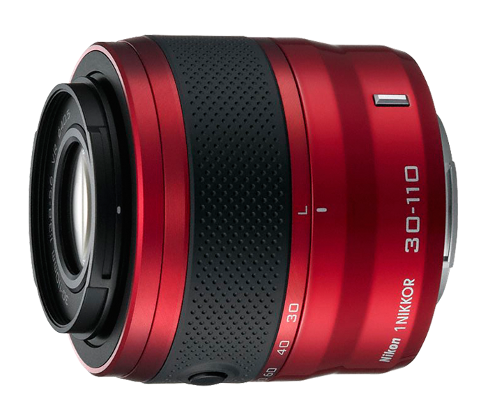 Photo of  1 NIKKOR<br/> VR 30-110mm f/3.8-5.6 Red