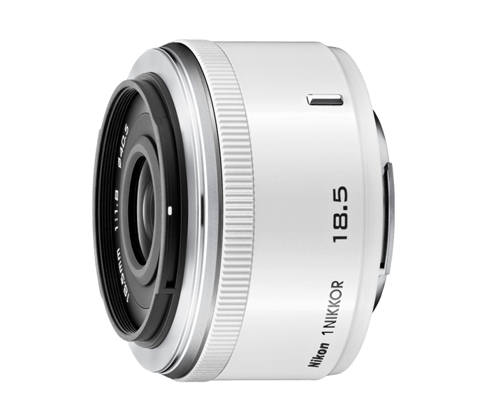 Photo of  1 NIKKOR 18.5mm f/1.8 White