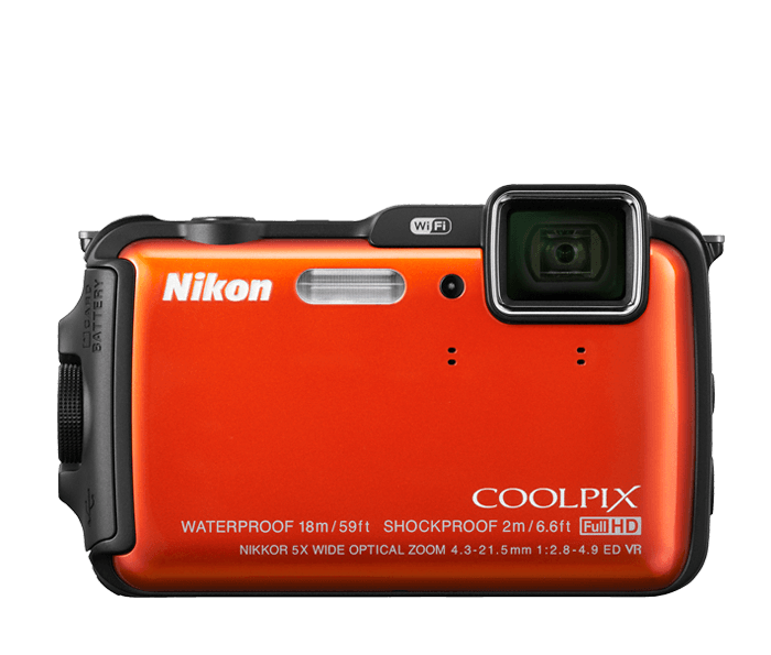 Photo of  COOLPIX AW120 Orange