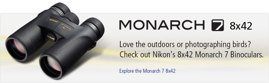 Explore the Monarch 7 8x42 Binoculars