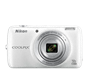 White  COOLPIX S810c