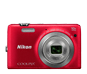 Rouge  COOLPIX S6700