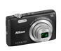 Black  COOLPIX S6700
