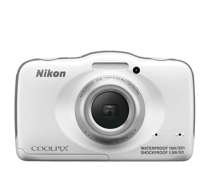 Photo of  COOLPIX S32 White