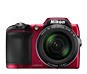 Red  COOLPIX L840