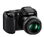 Black  COOLPIX L340