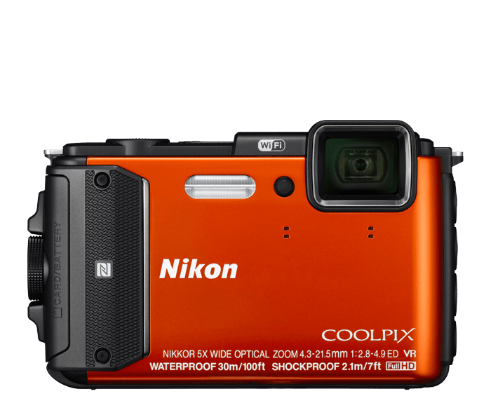 Photo of COOLPIX AW130 Orange