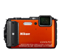 Orange  COOLPIX AW130