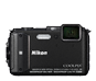 Black option for COOLPIX AW130