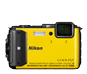 Yellow option for COOLPIX AW130